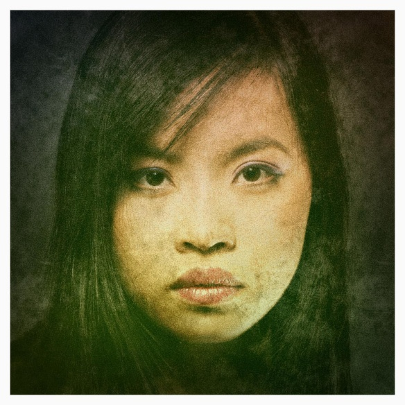 Retro-grunge photo effect